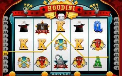 Houdini: The Magician's Slot